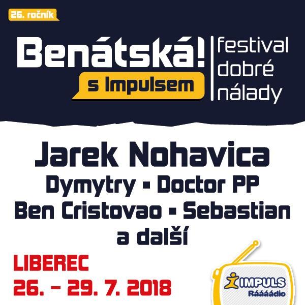 Benátská! s Impulsem 2018 - VIP permanentka