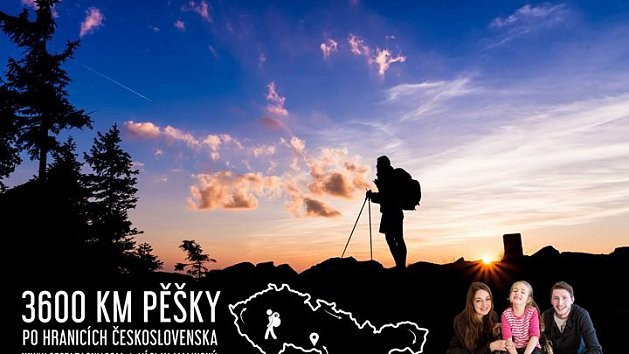 3600 KM PĚŠKY PO HRANICÍCH ČESKOSLOVENSKA, 80 % ze vstupného půjde na sbírkový účet Emičky